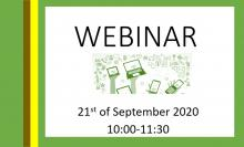 Webinar 21st of September