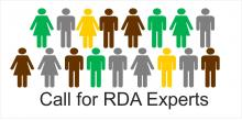 Call for RDA Experts